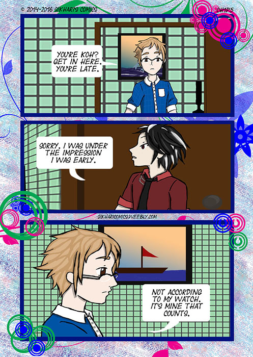 Chapter One Page Five